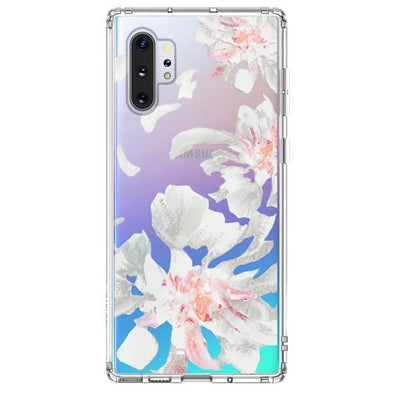 White Petal Phone Case - Samsung Galaxy Note 10 Plus 5G Case