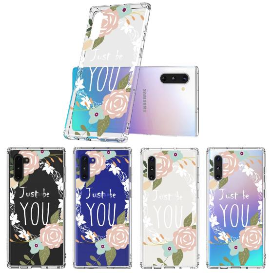 Just Be You Phone Case - Samsung Galaxy Note 10 Case