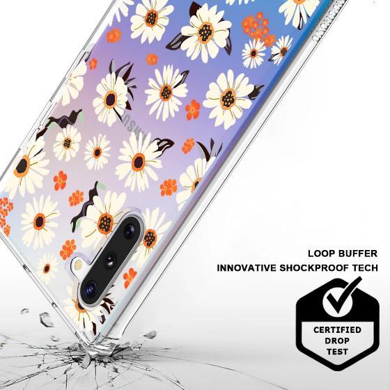 Daisy Floral Phone Case - Samsung Galaxy Note 10 Case