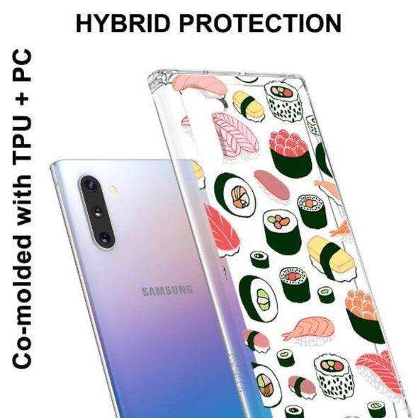 Sushi Phone Case - Samsung Galaxy Note 10 Case