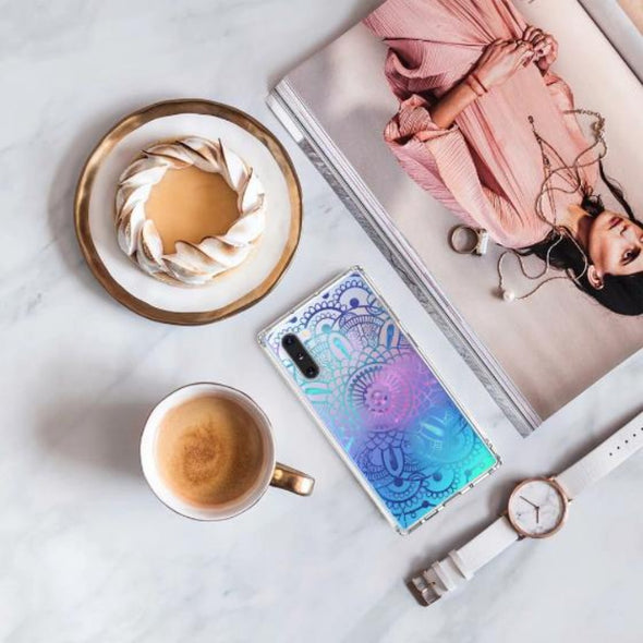 Galaxy Mandala Phone Case - Samsung Galaxy Note 10 Case