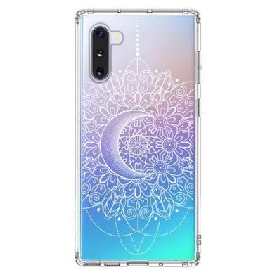 Moon Henna Phone Case - Samsung Galaxy Note 10 Case
