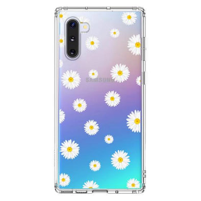 Daisy Floral Flower Phone Case - Samsung Galaxy Note 10 Case