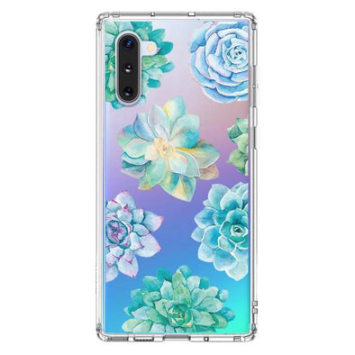 Succulents Plant Phone Case - Samsung Galaxy Note 10 Case