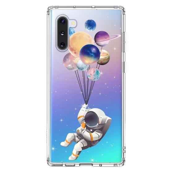 Astronaut Planet Phone Case - Samsung Galaxy Note 10 Case