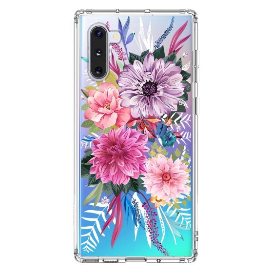 Blossom Floral Flower Phone Case - Samsung Galaxy Note 10 Case