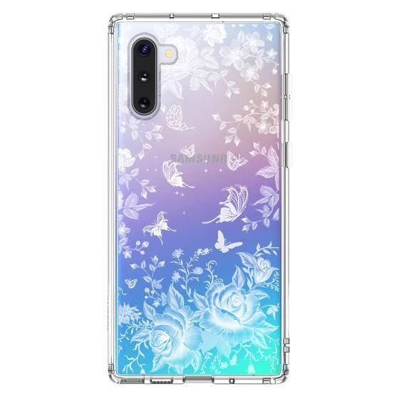 White Rose Garden Phone Case - Samsung Galaxy Note 10 Case