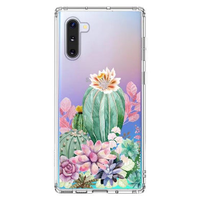 Tropical Cactus Succulents Phone Case - Samsung Galaxy Note 10 Case