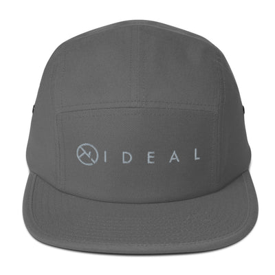IDEAL LOGO SILVER 5 PANEL CAP