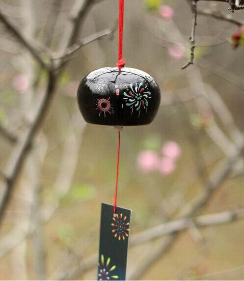 Cute Ceramic Japanese Wind chimes Lucky bell