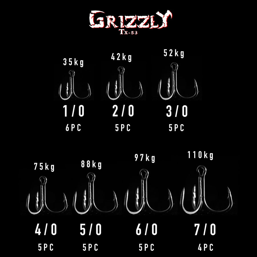 Grizzly TX53 Trebles