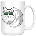 Birman Cat White Coffee Mug 15oz, Cat Lover Gifts 9188A