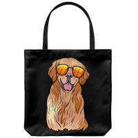 Golden Labrador Retriever Tote Bag, Funny Gift for Dog Lovers