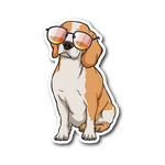 Beagle Sticker, Cute Gift for Cute Dog Lovers