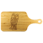 American Curl Cat Wood Cutting Board with Handle, Cat Lover Gifts 9183A