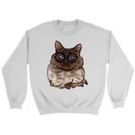 Balinese Cat Sweatshirt, Cat Lover Gifts 9186A