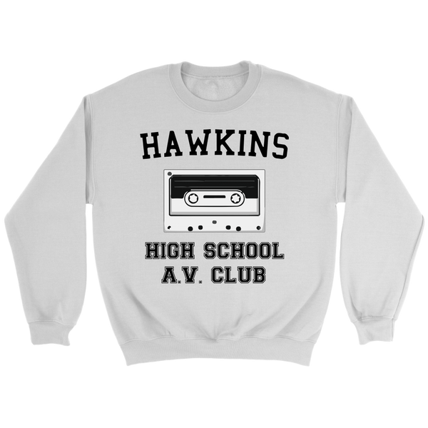 Hawkins High School Sweatshirt, Christmas Gifts for AV Club Lovers