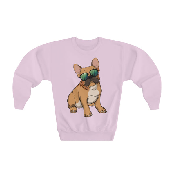French Bulldog Youth Crewneck Sweatshirt