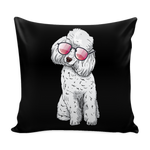 Poodle Pillow Covers, Cute Gift for Cute Dog Lovers