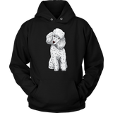 Poodle Hoodie Sweatshirt, Funny Gift for Cute Dog Lovers
