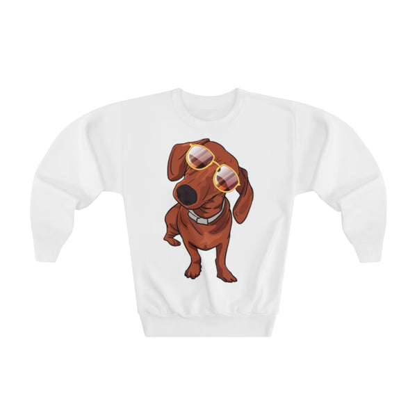Dachshund Youth Crewneck Sweatshirt