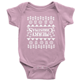 Merry Christmas Fair Isle Stranger Upside Down T Shirt Things Baby Romper Onesie Baby Boy Baby Girl