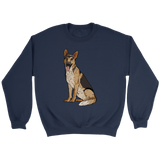 German Shepherd Unisex Sweatshirt, Funny Gift for Dog Lovers