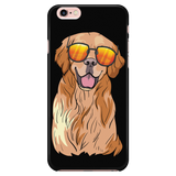 Golden Labrador Retriever Smart Phone Case for iPhone, Funny Gift for Dog Lovers