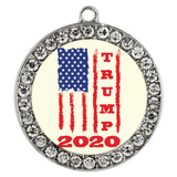 Trump 2020 USA Flag Bracelet, Gifts for Republicans Conservative