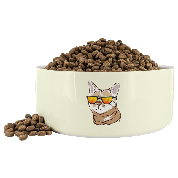 Bengal Cat Pet Dog Bowl, Cat Lover Gifts 9187A