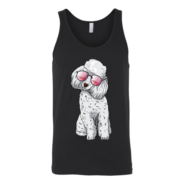 Poodle Unisex Tank Top, Cute Gift for Cute Dog Lovers