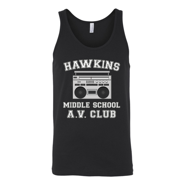 Hawkins Middle School Tank Top for Men and Women