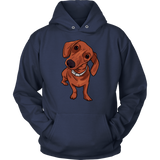 Dachshund  Hoodie Sweatshirt, Funny Gift for Cute Dog Lovers