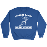 Shrute Farms Bed n Breakfast Beets Crewneck Sweatshirt for Men Women