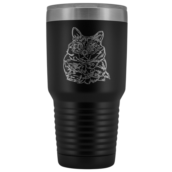 Balinese Cat Vacuum Travel Tumbler, Cat Lover Gifts 9186A