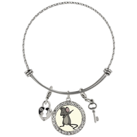 Dabbing Mouse Rat Bracelet, Gifts for Rodent Lovers