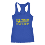 The North Remembers Racerback Tank Top