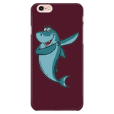 Shark Phone Case for iPhone, Dabbing Gifts for Fishing Lovers