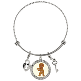 Gingerbread Man Bracelet, Floss Dancing Gifts for Dance Lovers