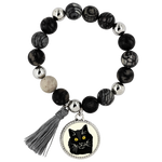 Bombay Cat Bracelet, Cat Lover Gifts 9189A