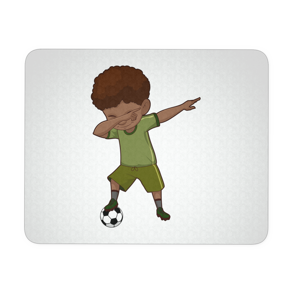 Cute Funny Dabbing Dance Soccer Mousepads for Women Men Kids Gamers