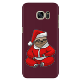 Sloth Santa Phone Case for Samsung, Christmas Gifts for Sloth Lovers