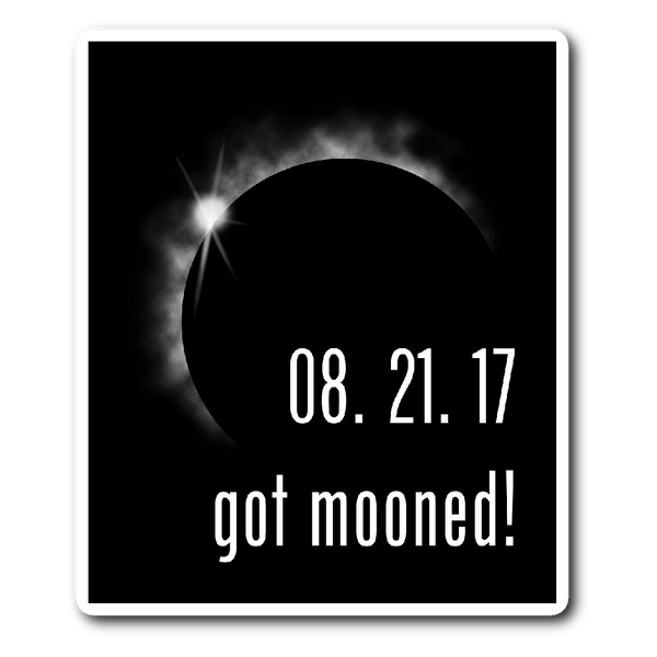 Solar Eclipse 2017 Car Bumper Sticker