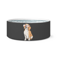 Beagle Dog Bowl, Cute Gift for Cute Dog Lovers