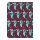 Shark Journal Diary Paperback Notebook, Dabbing Gifts for Fishing Lovers