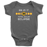 Solar Eclipse 2017 Gift Baby Onesie Romper Souvenir Bodysuit Clothing for Baby Boys and Baby Girls