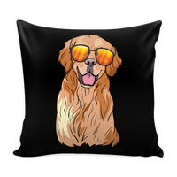 Golden Labrador Retriever Pillow Covers, Funny Gift for Dog Lovers