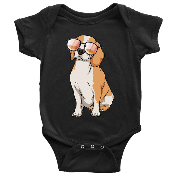 Beagle Baby Romper Bodysuit, Cute Gift for Cute Dog Lovers