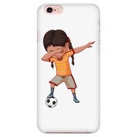 Cute Funny Dabbing Dance Soccer Smart Phone Case for iPhone for Girls Men Women