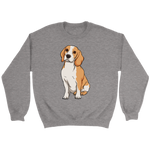 Beagle Unisex Sweatshirt, Funny Gift for Cute Dog Lovers